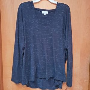 Maurices LS Hooded Shirt. 3x